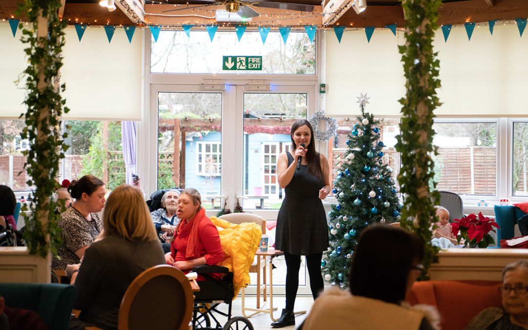 A cracking Christmas party at Bromley Park Care Home