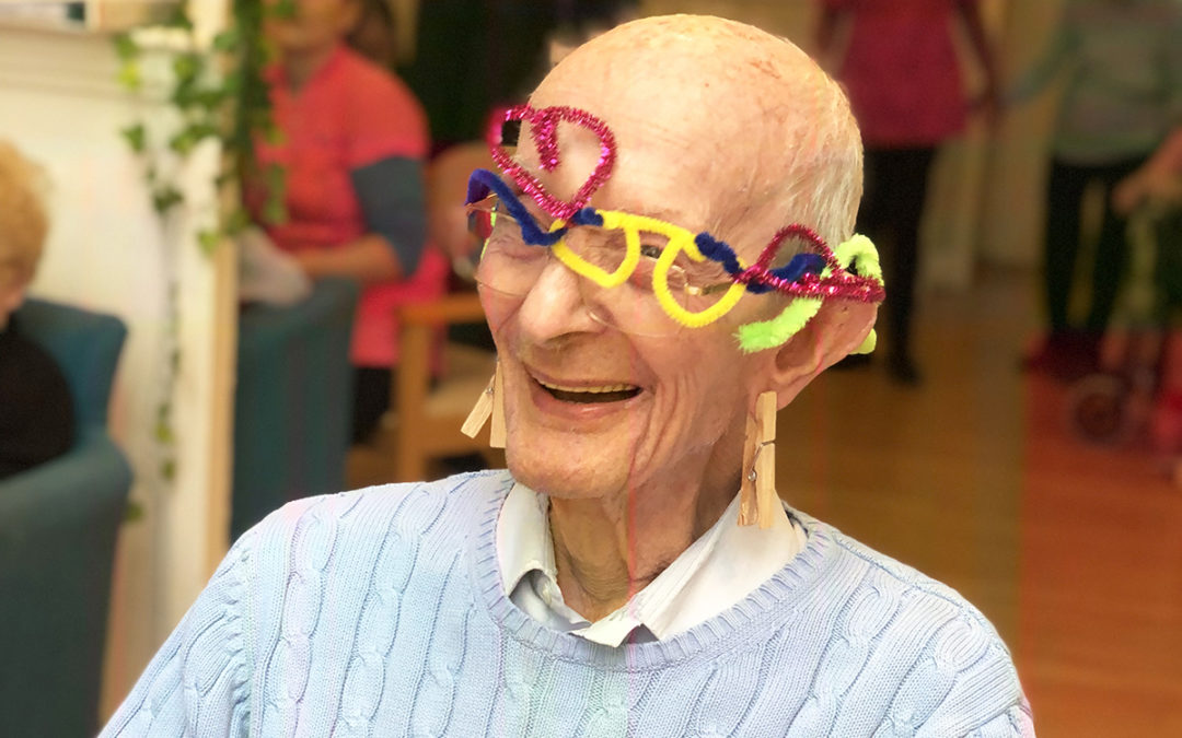 Freestyle arts and crafts at Bromley Park Care Home