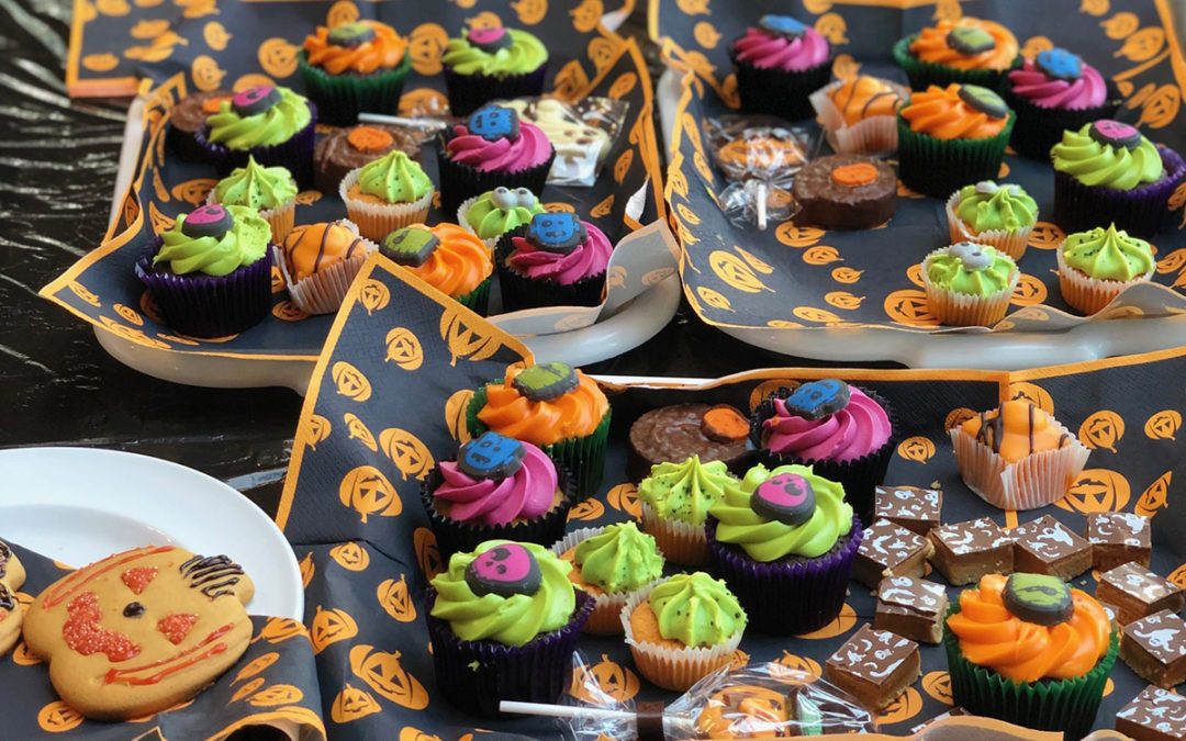 Bromley Park Care Home hosts spooky Halloween Tea Party