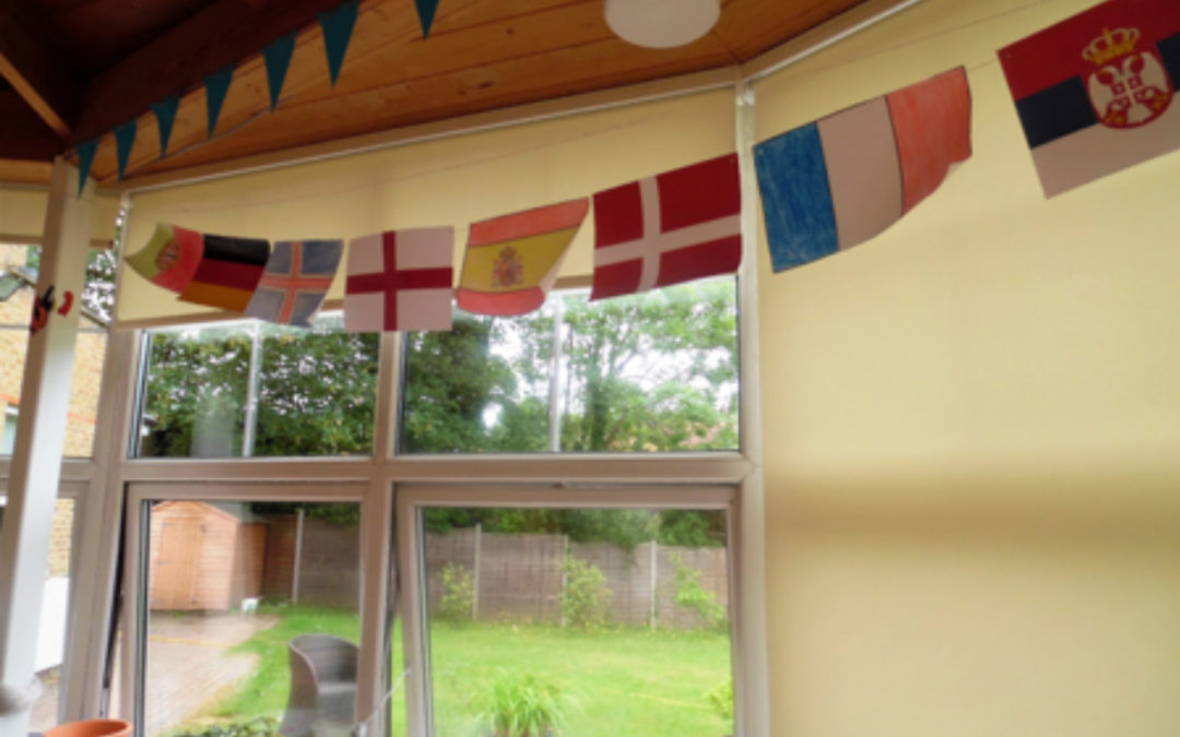 World Cup Fever and Friendships at Bromley Park Care Home