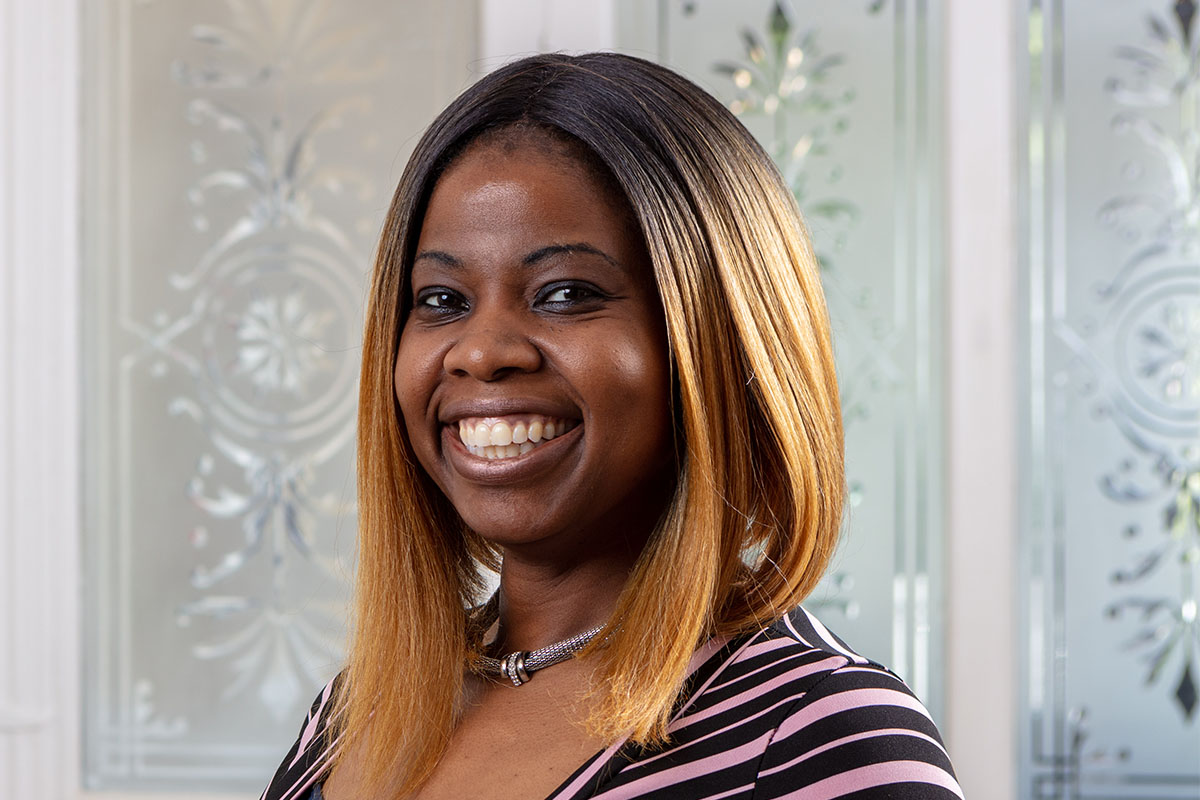 Catherine Ogbogu-Sang, Bromley Park Care Home Manager
