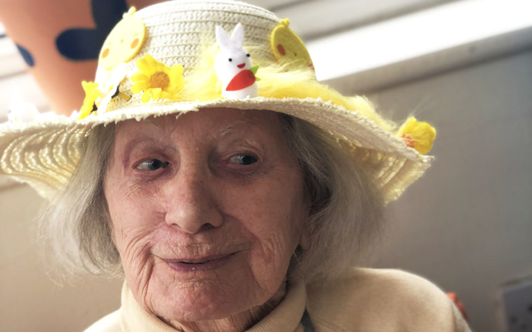 Easter arts and crafts at Bromley Park Care Home