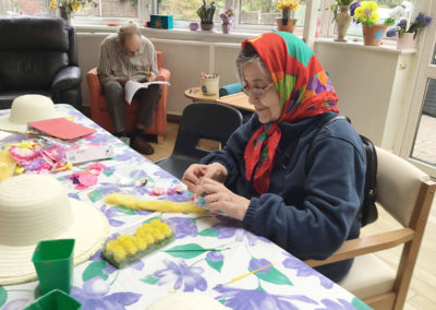 Easter at Bromley Park Care Home 1