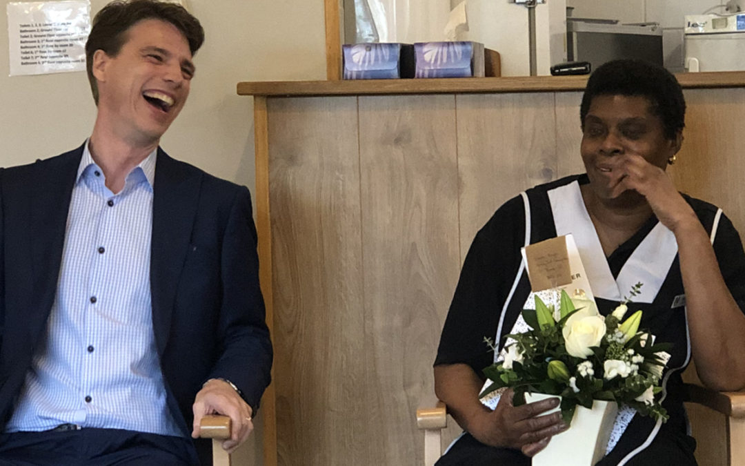 Congratulations to Edna at Bromley Park Care Home
