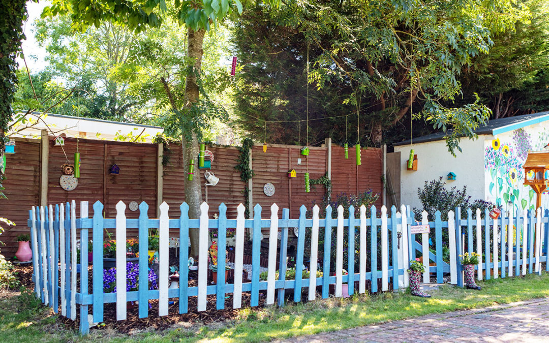 Fairy spotting in the garden at Bromley Park Care Home