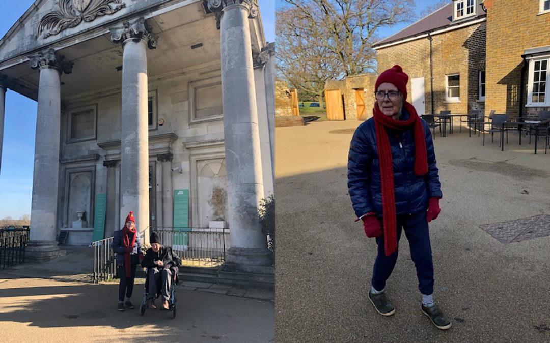 Bromley Park Care Home residents explore Beckenham Place Park