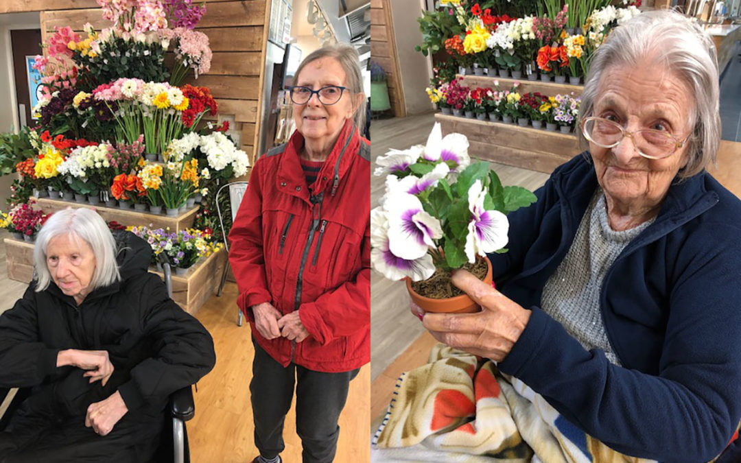 Bromley Park Care Home residents explore Polhill Garden Centre