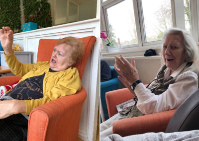 Singer Santino at Bromley Park Care Home 2