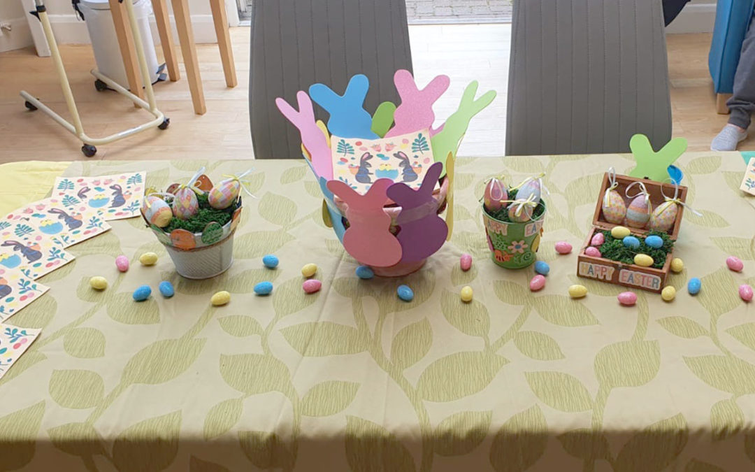A very hoppy Easter at Bromley Park Care Home