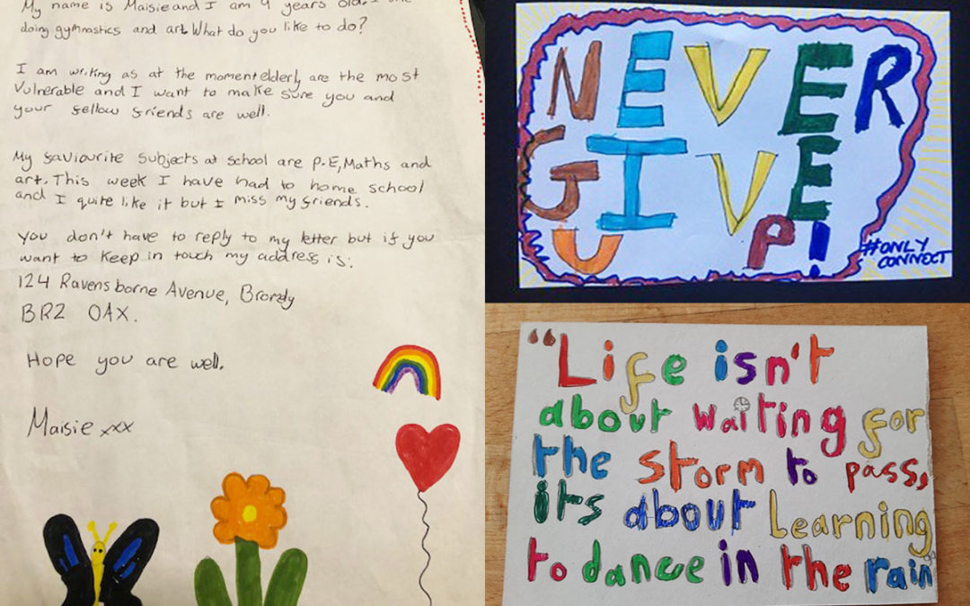 Children send heartwarming letters to Bromley Park Care Home