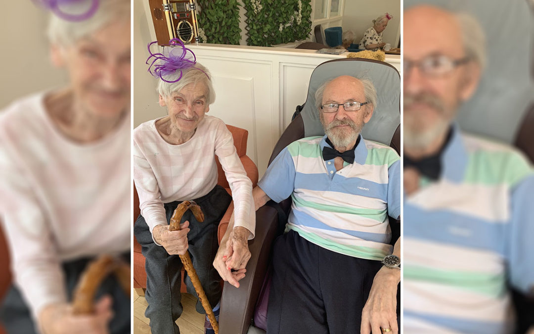 Bromley Park Care Home residents enjoy Ascot race day