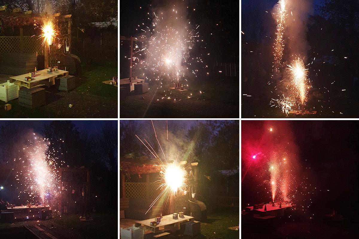 Bromley Park Care Home residents enjoy a firework extravaganza
