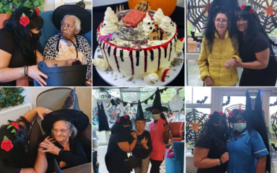 Halloween high spirits at Bromley Park Care Home