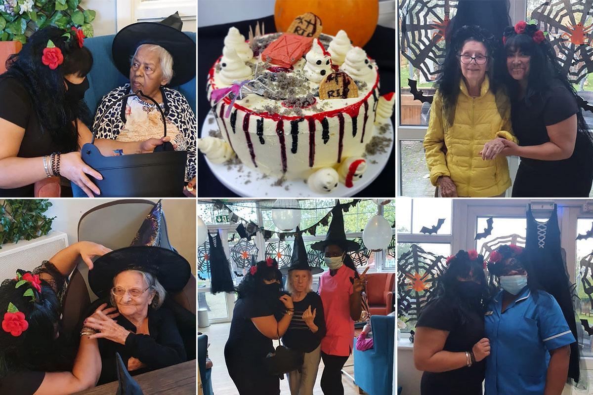 Halloween high spirits at Bromley Park Care Home