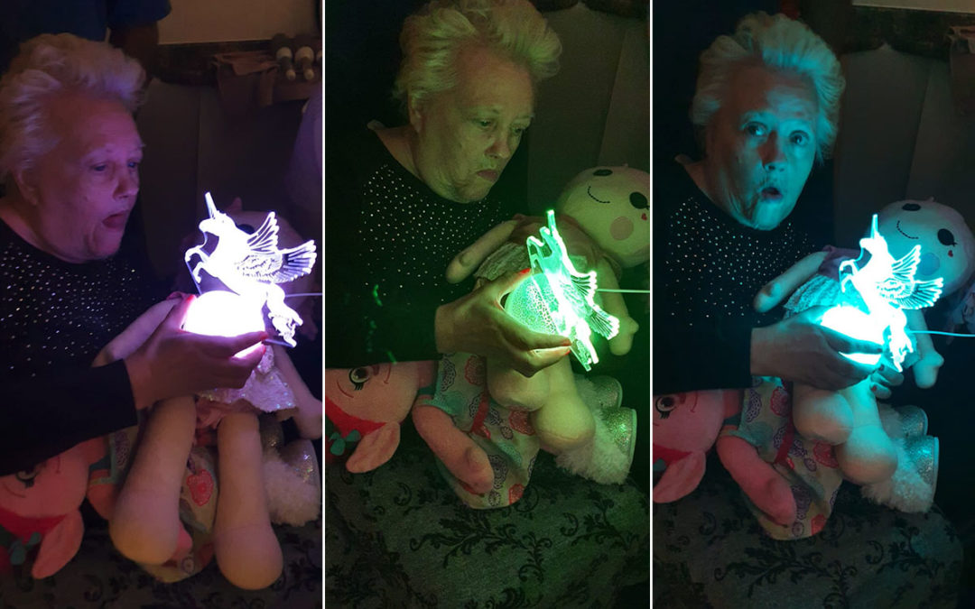 Unicorn magic at Bromley Park Care Home