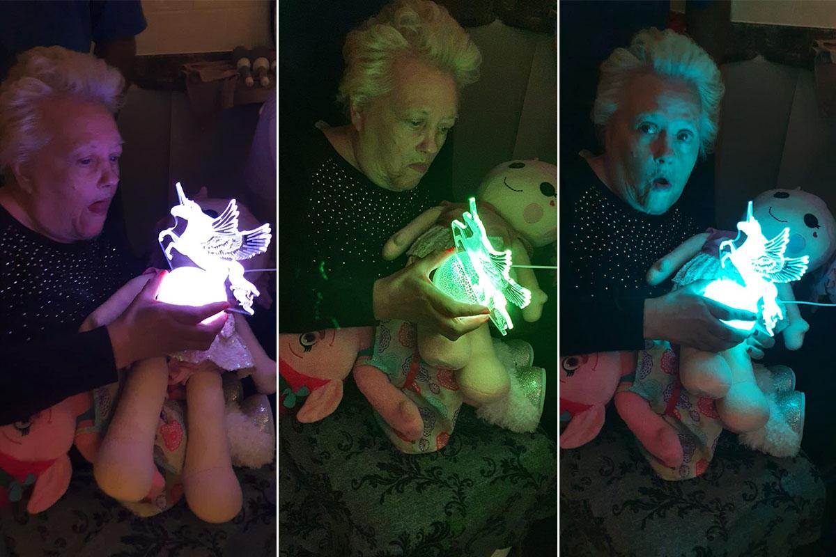 Unicorn magic at Bromley Park Care Home