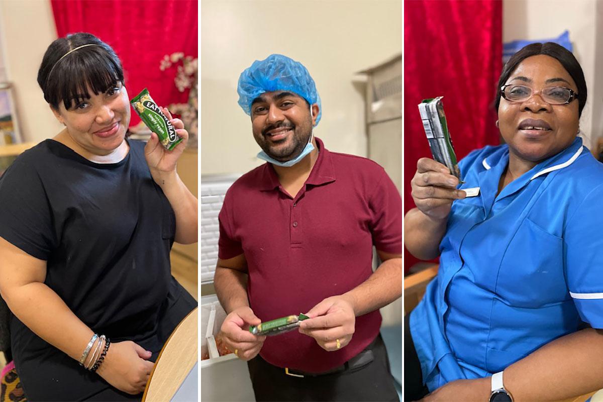 Wellness Wednesdays for staff at Bromley Park Care Home