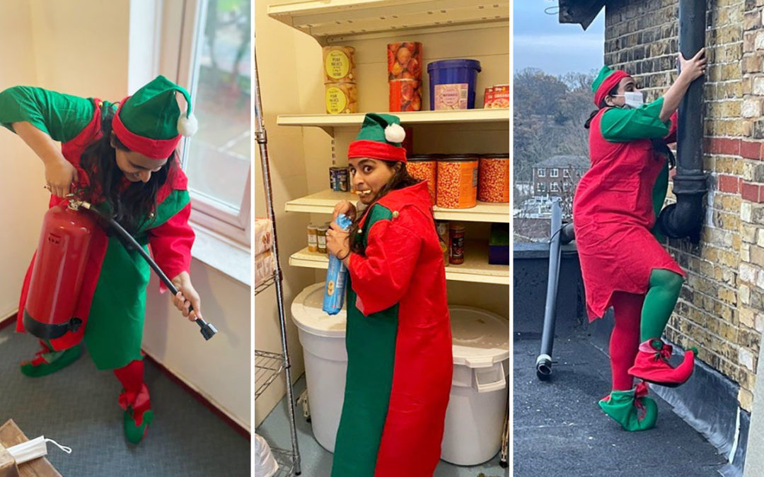 Elf and safety fun at Bromley Park Care Home