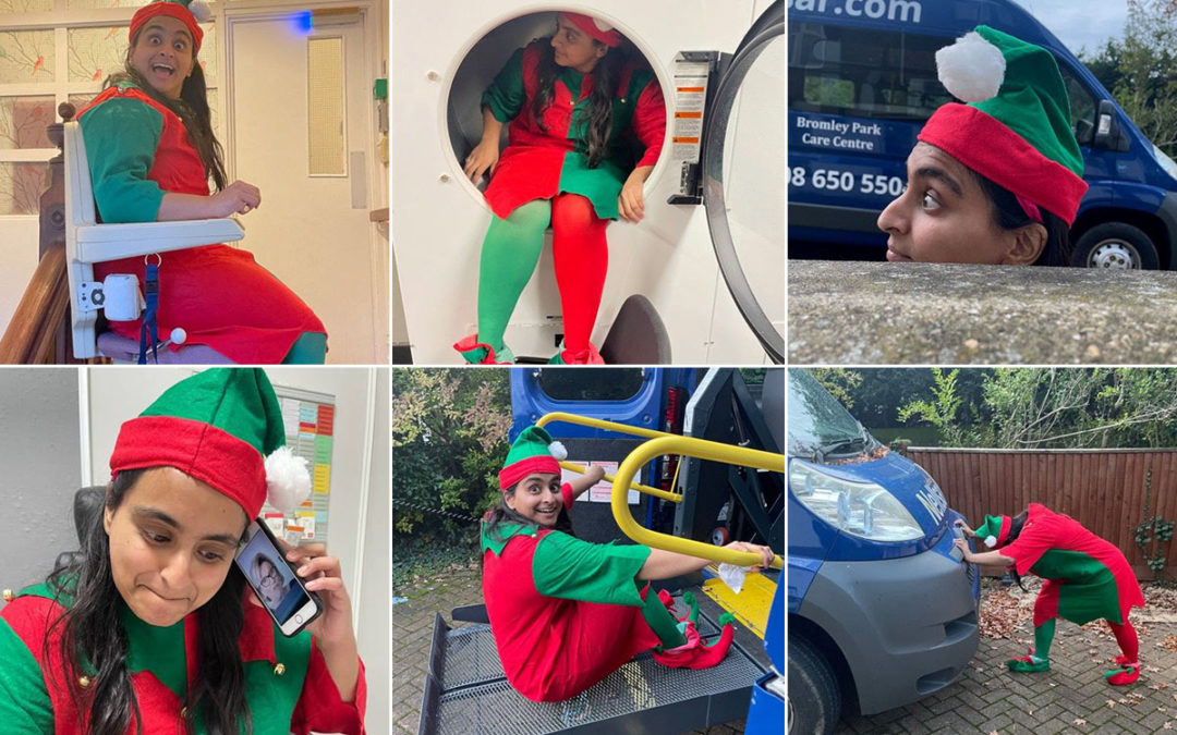 Further Elf capers at Bromley Park Care Home