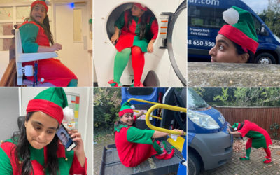 Elf capers at Bromley Park Care Home
