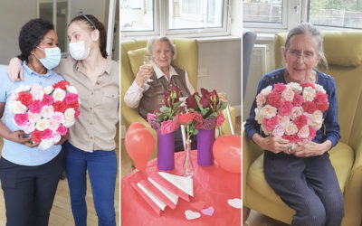 Valentine's Day at Bromley Park Care Home