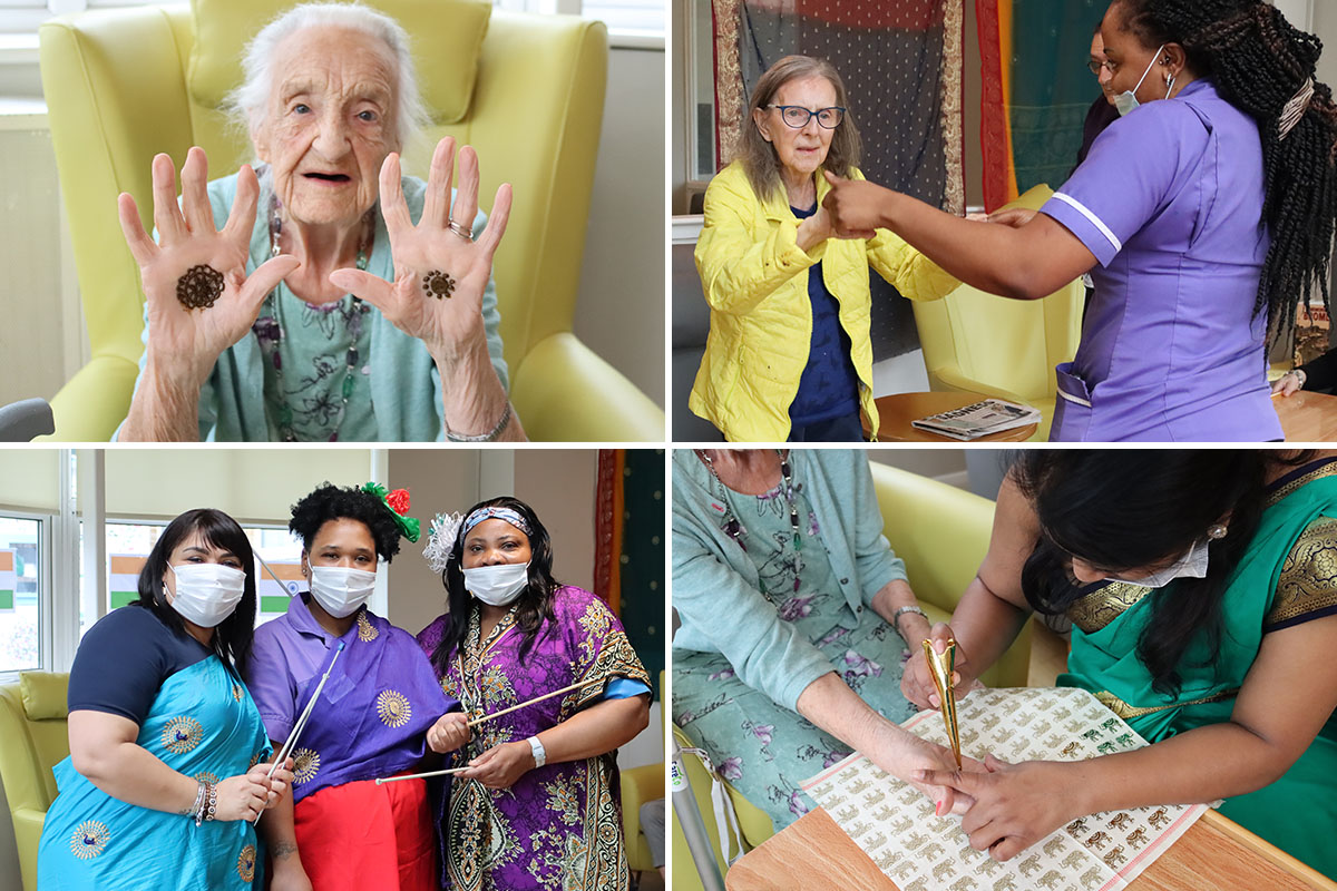 A celebration of India at Bromley Park Care Home