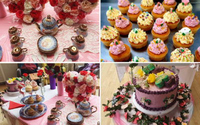 Mothers Day tea party at Bromley Park Care Home