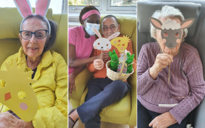 Easter festivities at Bromley Park Care Home