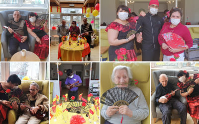 Spanish themed celebrations at Bromley Park Care Home
