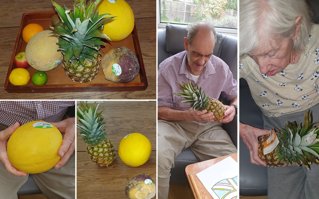 Fantastic fruit and veg at Bromley Park Care Home