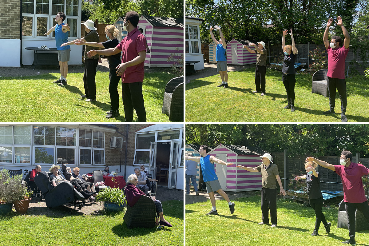 Ballet bliss at Bromley Park Care Home