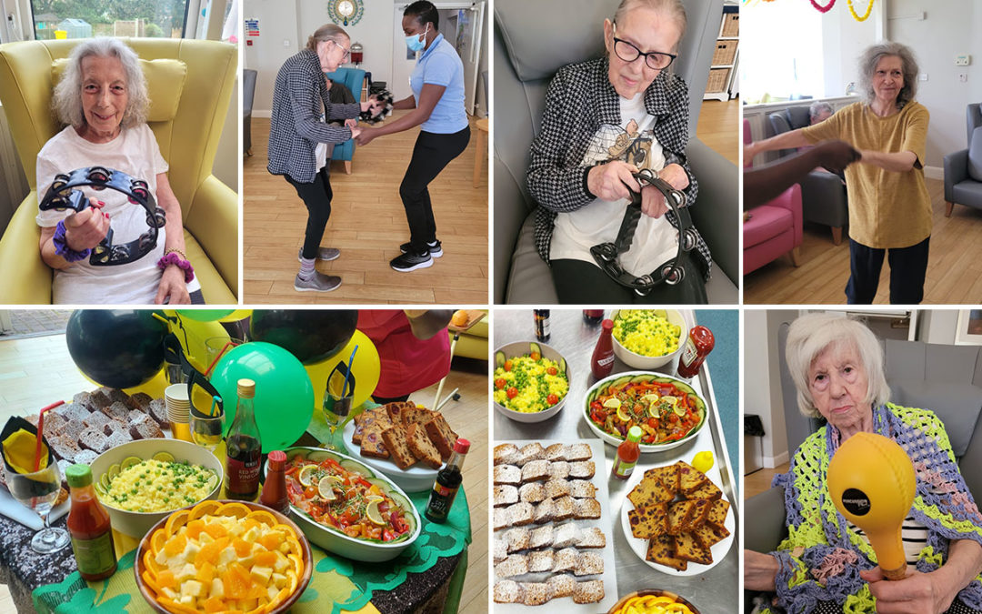 Celebrating Caribbean culture at Bromley Park Care Home