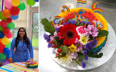 Pride month celebrations at Bromley Park Care Home