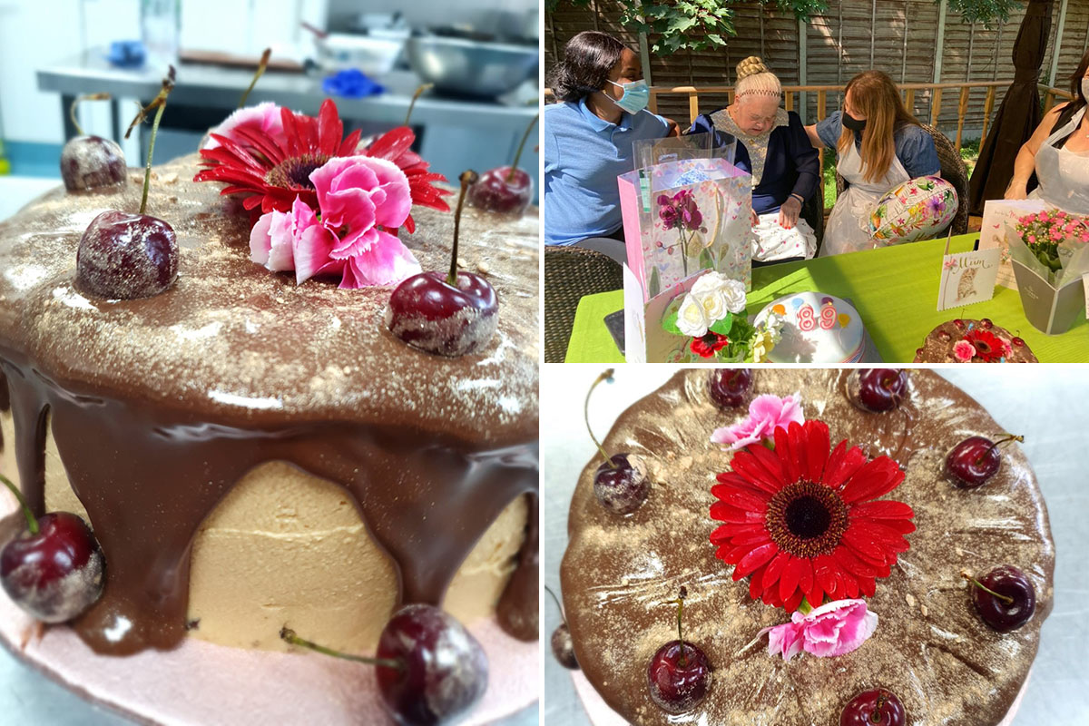 Birthday wishes for Stavroulla at Bromley Park Care Home