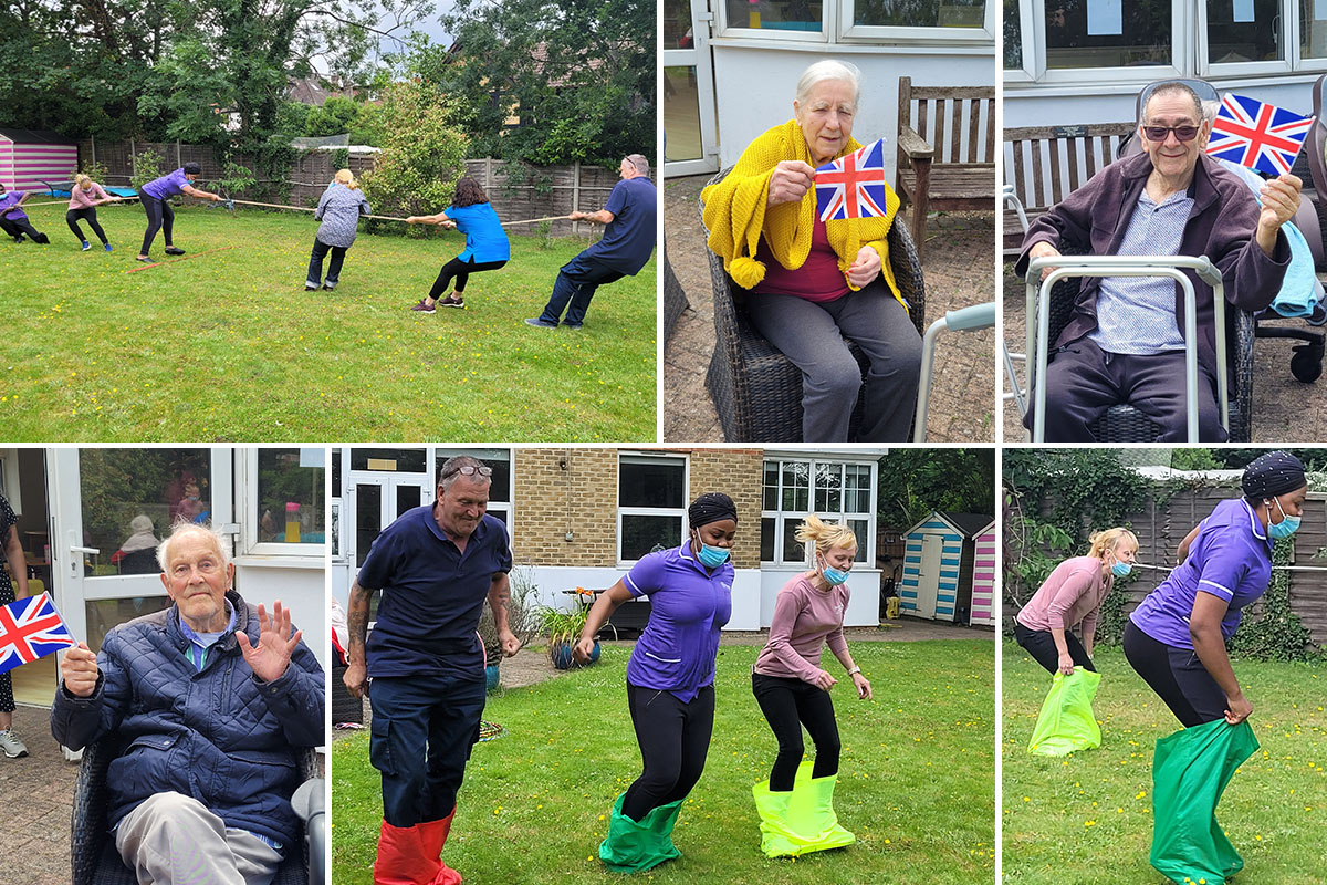 Bromley Park Care Home hosts their own Olympic Games